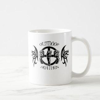 Outdoor Heathen Camping Classic White Coffee Mug