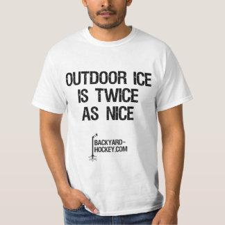 """Outdoor Ice Is Twice As Nice"" T-Shirt"