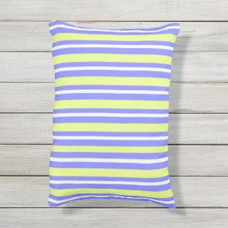 OUTDOOR-INDOOR_Pillows_Fun-Stripe-Blueberry--Lime Outdoor Pillow