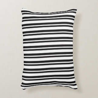 OUTDOOR-INDOOR_Snuggle_Pillows_Stripes_Black Accent Pillow
