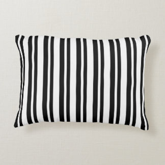 OUTDOOR-INDOOR_Snuggle_Pillows_Stripes_Black_II Accent Pillow