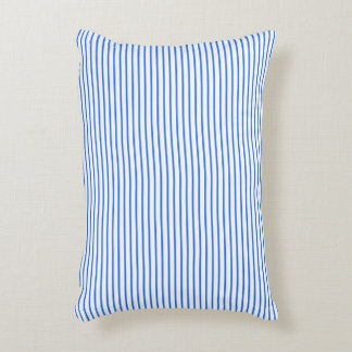 OUTDOOR-INDOOR_Snuggle_Pillows_Stripes_Blue Decorative Pillow