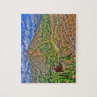 Outdoor jeep trail scenic puzzle