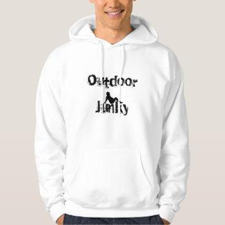 outdoor junky mud flap man hoodie