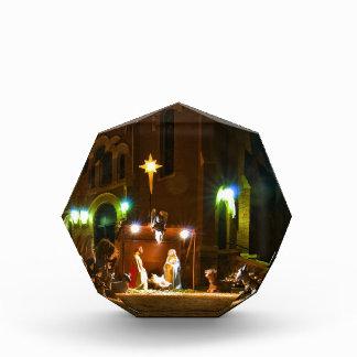 Outdoor nativity scene award