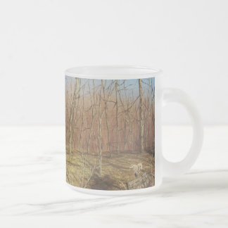 Outdoor/Nature Gifts Frosted Glass Coffee Mug