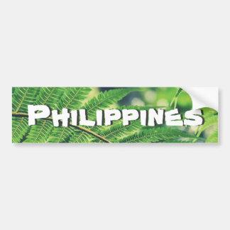 Outdoor Philippines Bumper Sticker