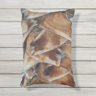Outdoor Pillow Palm Tree Trunk