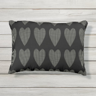 OUTDOOR Pillows_Rocking Chair U0026 More_Hearts Outdoor Pillow