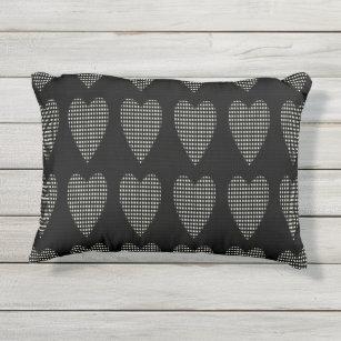 OUTDOOR Pillows_Rocking Chair U0026 More_Hearts Outdoor Pillow