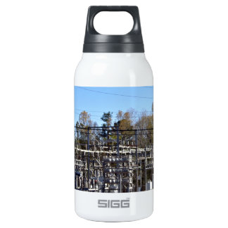 Outdoor power substation insulated water bottle
