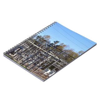 Outdoor power substation notebook