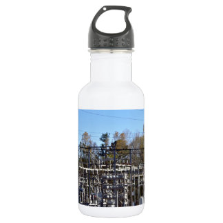 Outdoor power substation water bottle