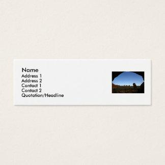 Outdoor Profile Card Template