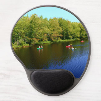 Outdoor Recreation at Pushaw Stream, Alton, Maine Gel Mouse Pad