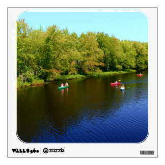 Outdoor Recreation at Pushaw Stream, Alton, Maine Wall Graphics
