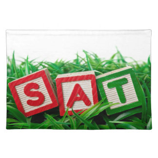 Outdoor Saturday Cloth Placemat