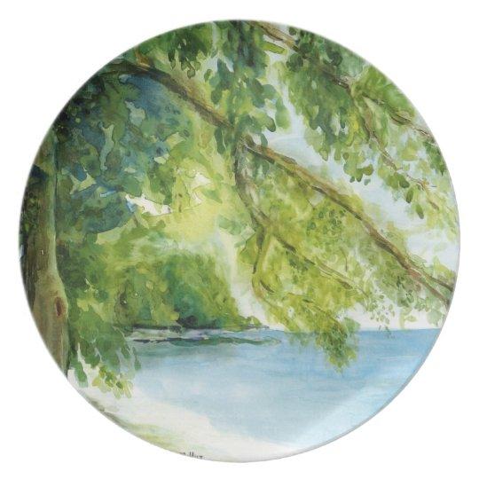 Outdoor Series - Watercolors Plate