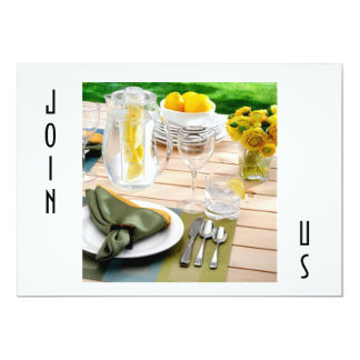 OUTDOOR SETTING INVITAION FOR ALL OCCASIONS CARD