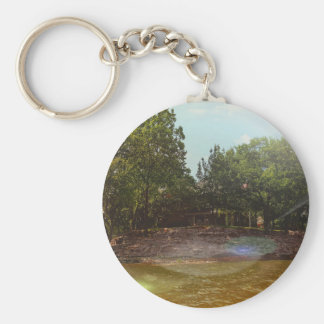 Outdoor Shoreline View From the Lake Keychain