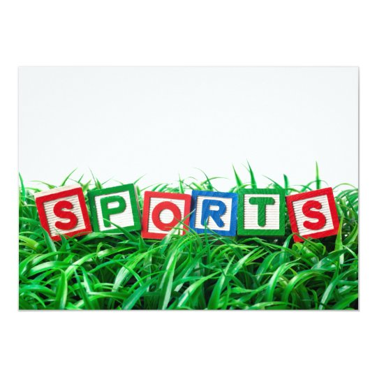 Outdoor sports card
