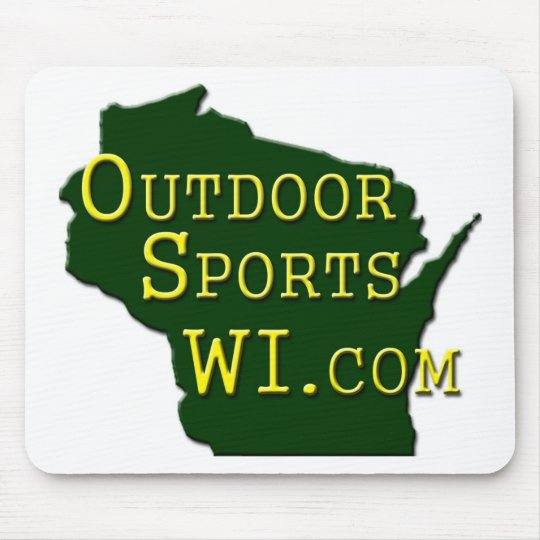 Outdoor Sports WI - Logo Mouse Pad