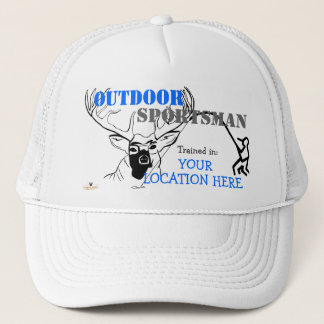 "Outdoor Sportsman ""Your Location"" Ball Cap"