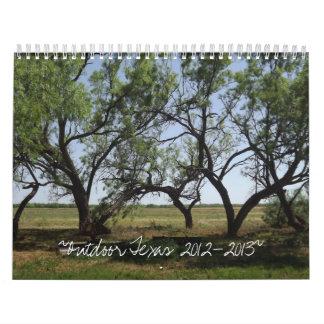 Outdoor Texas 2012-2013 Calendar