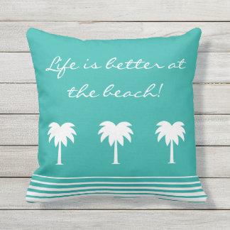 Outdoor Beach Throw Pillows : Beach Pillows - Decorative & Throw Pillows Zazzle