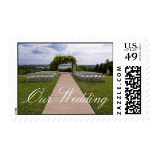 Outdoor Wedding Postage