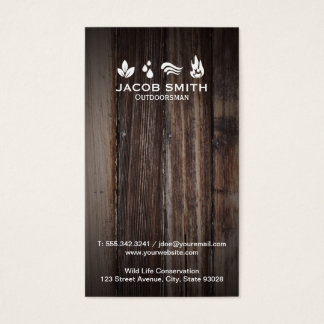 Outdoors Business Card