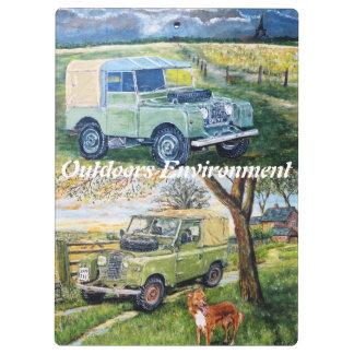 Outdoors Environment Clipboard