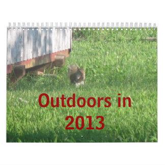 Outdoors in 2013 calendar