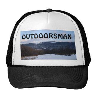 OUTDOORSMAN CAP TRUCKER HAT