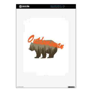 Outdoorsman Decals For iPad 2