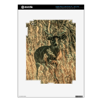 outdoorsman wilderness Camouflage whitetail deer iPad 3 Skins