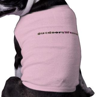 OutdoorsWoman Doggie Shirt