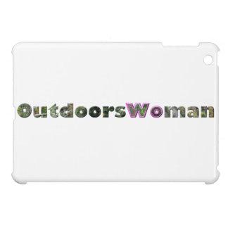 OutdoorsWoman iPad Mini Cover