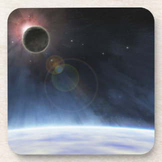 Outer Atmosphere of The Planet Earth Beverage Coaster