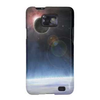 Outer Atmosphere of The Planet Earth Samsung Galaxy Case