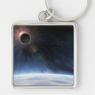 Outer Atmosphere of The Planet Earth Keychain