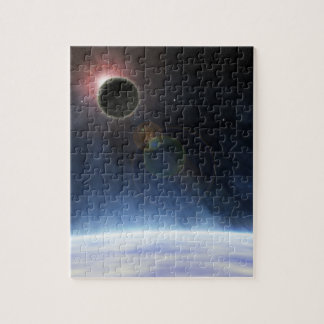 Outer Atmosphere of The Planet Earth Photo Puzzle