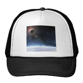 Outer Atmosphere of The Planet Earth Trucker Hat