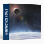Outer Atmosphere of The Planet Earth Vinyl Binder