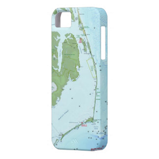 Outer Bank Map iPhone SE/5/5s Case