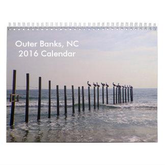 Outer Banks 2016 Calendar