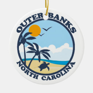 Outer Banks. Ceramic Ornament