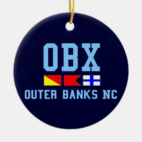 Outer Banks. Ceramic Ornament
