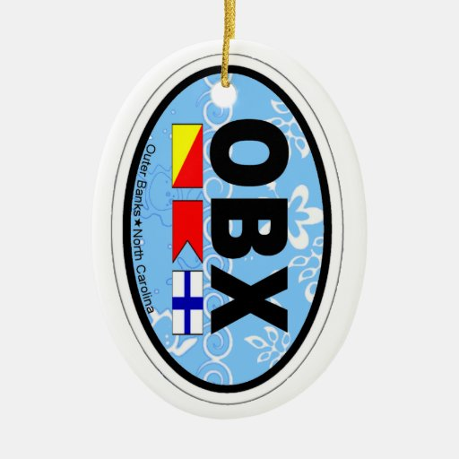 Outer Banks. Christmas Ornaments