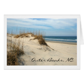 Outer Banks Dunes Greeting Cards